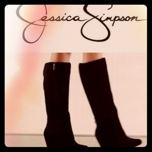 """JESSICA SIMPSON """"RALLIE"""" TALL SUEDE BOOTS ⭐"""
